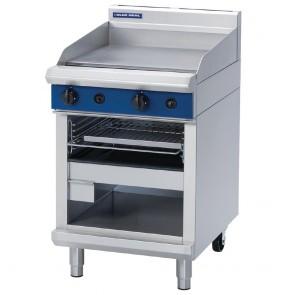 GE837-N Blue Seal 600mm Gas Griddle Toaster - Natural Gas
