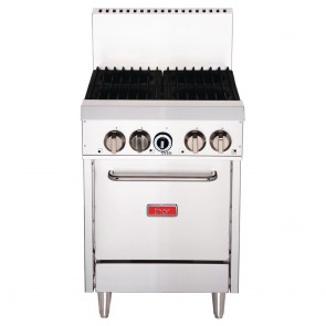 GH100-P Thor 4 Burner Oven with Flame Failure - LPG / Propane