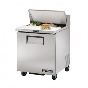GH562-A True Salad Prep Counter 1 door - 8x1/6 GN Pan Top