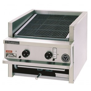 Goldstein 2 Burner Gas Char Broiler CHDS-24
