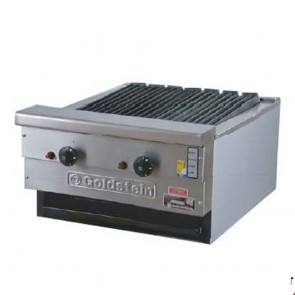 Goldstein 2 Burner Gas Char Broiler RBA-24L