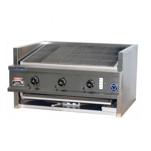 Goldstein 3 Burner Gas Char Broiler CHDS-36