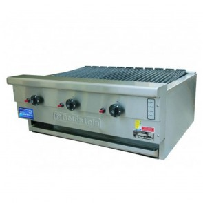 Goldstein 3 Burner Gas Char Broiler RBA-36L
