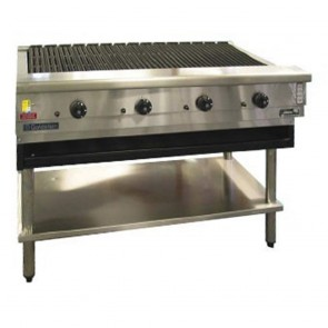 Goldstein 4 Burner Gas Char Broiler RBA-48L