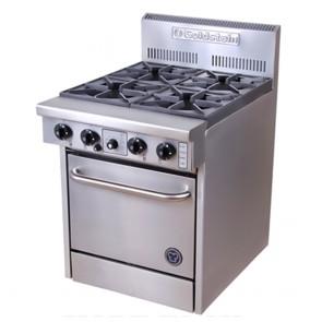 Goldstein 4 Burner Gas Cooktop + Oven PF-4-20