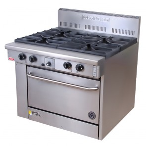 Goldstein 4 Burner Gas Cooktop + Oven CS-4-28