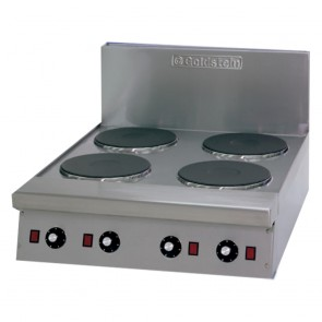 Goldstein 4 Solid / Radiant Burner Electric Cooktop PEB4S / PEB4R
