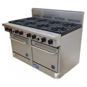 Goldstein 8 Burner Gas Cooktop + Double Oven PF-8-2/20