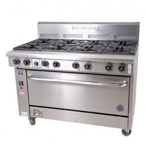 Goldstein 8 Burner Gas Cooktop + Oven PF-8-40