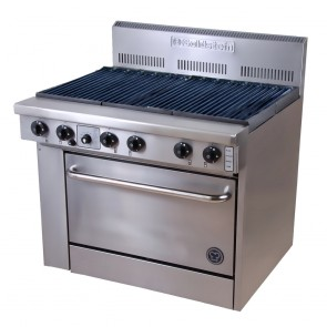 Goldstein Gas BBQ Burner + Oven PF-RB-28