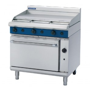 GR798-N Blue Seal By Moffat 900mm Gas Static Oven Range w/900mm Griddle - Natural Gas