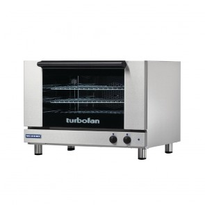 GR857 Turbofan By Moffat 3X Full Size Tray Manual Electric Convection Oven