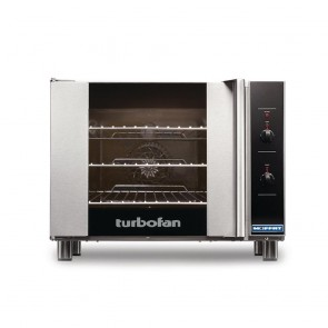 GR861 Turbofan Electric Convection Oven Full Size 3 Tray Manual Controls