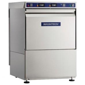 GR908 Washtech Economy Undercounter Dishwasher Mechanical Controls 500mm Rack