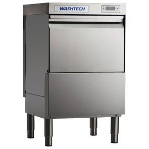 GR911 Washtech Undercounter Glasswasher/Light Duty Dishwasher Digital 450mm Rack