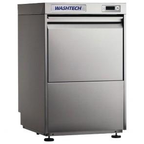 GR912 Washtech Undercounter Glasswasher/Light Duty Dishwasher Digital 500mm Rack
