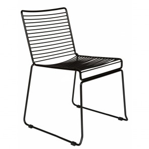 Studio Wire Outdoor Chair Stackable