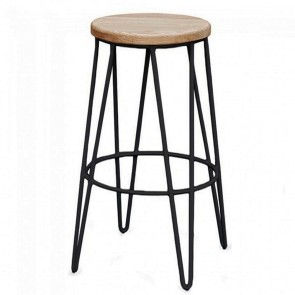 Hairpin Industrial Kitchen Counter Stool