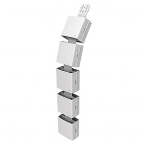 Height Adjustable Workstation Power Cable Ducting
