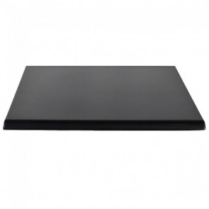Factory 2nd Indoor Outdoor Cafe Table Top - Black