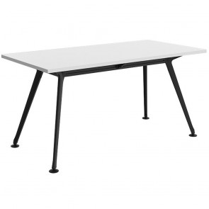 Infinity Rectangular Meeting Table Black Legs