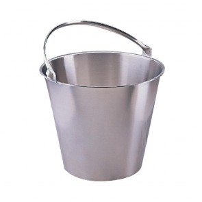 J807 Bucket Stainless Steel - 12 Litre 13qrt