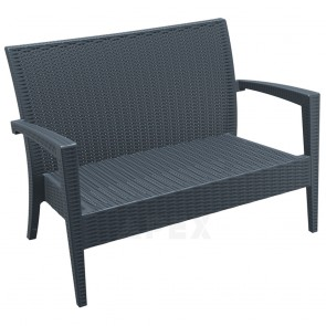 Jytte Lounge Sofa Resin Wicker Outdoor Furniture