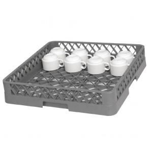 K908 Dishwasher Open Cup Basket/Rack - 500x500mm