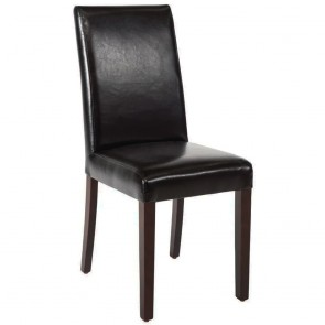 Kas Faux Leather Wooden Dining Chair