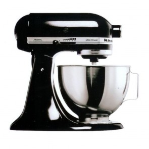 KitchenAid Black KSM150 Mixer
