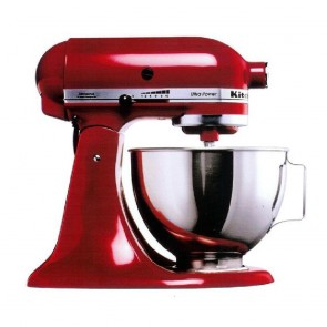 KitchenAid Red KSM150 Mixer