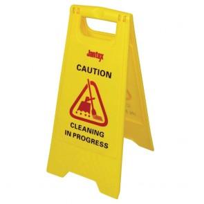 L433 Jantex Wet Floor Sign 'Cleaning in Progress'
