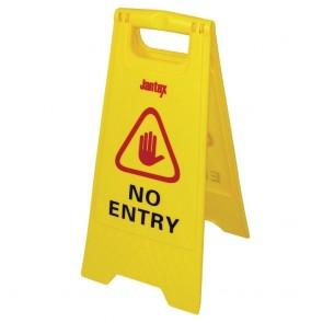 L434 Jantex Wet Floor Sign 'No Entry'