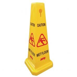 L483 Jantex Warning Cone - Caution Wet Floor
