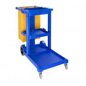 L683 Cleaning Trolley Blue