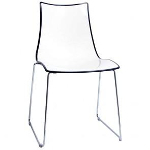 Letta Cafe Chair Sled Base