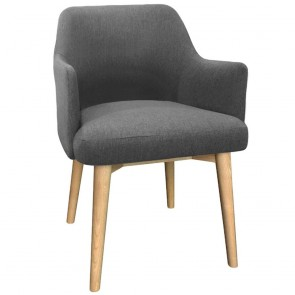 Linnea Armchair Natural Wood Legs
