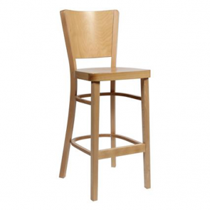 Lunete Timeless Bentwood Wooden Bar Stool