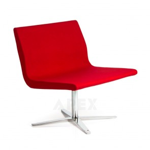 Madeleine Accent Swivel Chair Soft Seat Modern