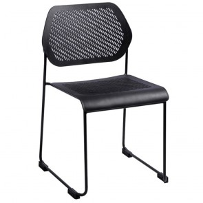 Maja Visitor Chair with Sled Base