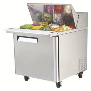 Austune Mega Top Salad Table 12 Pans AMST-12