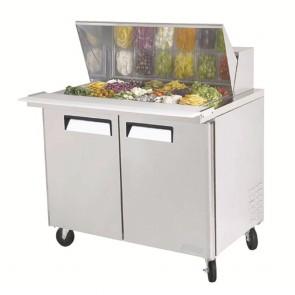 Austune Mega Top Salad Table 18 pans AMST-18