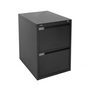 Metal 2 Drawer Vertical Filing Cabinet