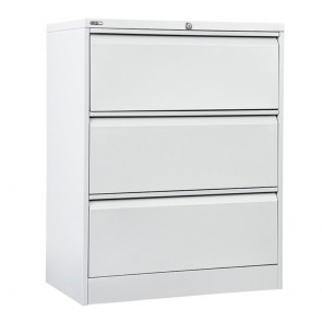 Metal 3 Drawer Lateral Filing Cabinet