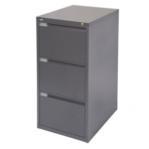 Metal 3 Drawer Vertical Filing Cabinet