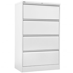 Metal 4 Drawer Lateral Filing Cabinet