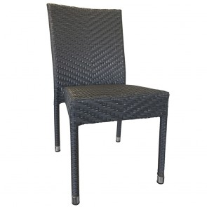Mia Rattan Wicker Outdoor Chair