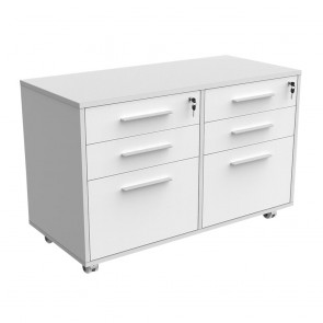 Mobile Caddy with Drawers & Filing Drawers