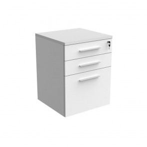 Mobile Pedestal with Drawers and Filing Drawer
