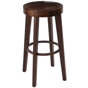 Commercial Wood Bar Stool